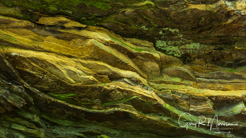 Sandstone Patterns I At Porland Arch Nature Preserve Fountain Co