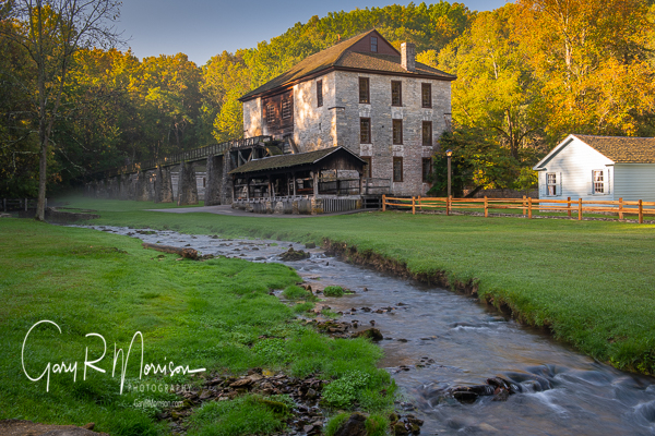 Fall At The Old Grist Mill Spring Mill SP IN