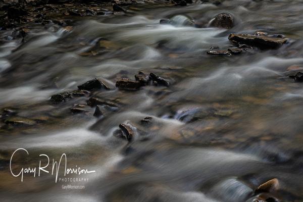 Rapids in a stream Spring Mill SP IN