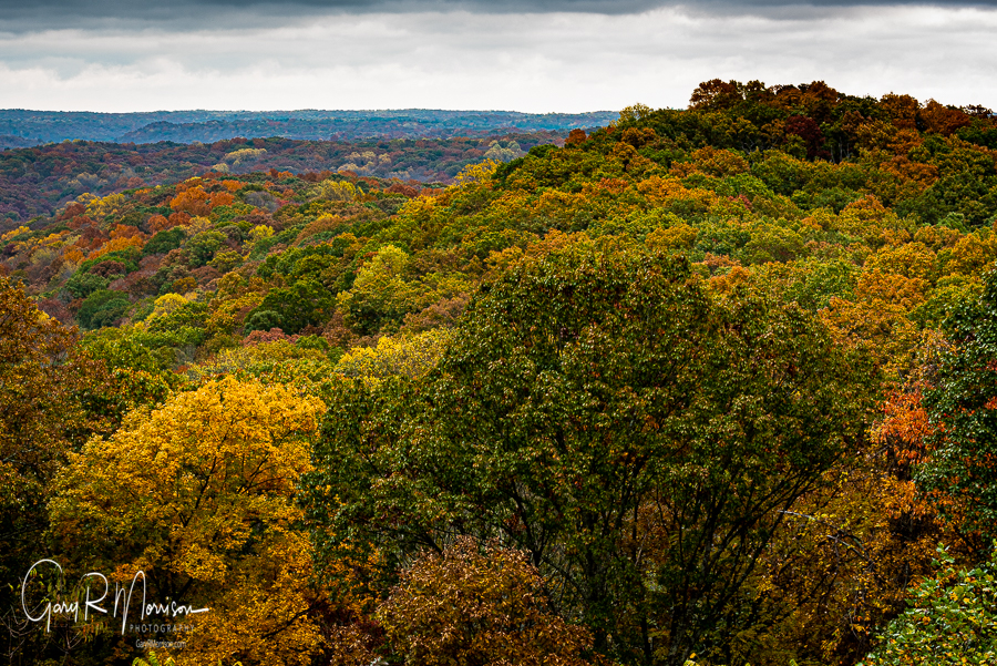The promise of fall Brown County SP IN