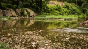 Musctatcuck River Canyon Jennings County Indiana