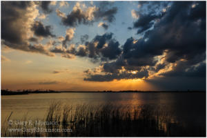 Back Bay Sunset, Back Bay Wildlife Refuge, Virginia