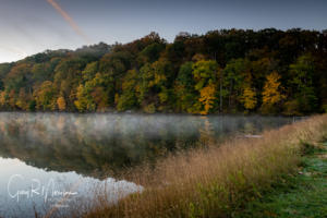 Fall colors at Ogle Lake Brown County IN