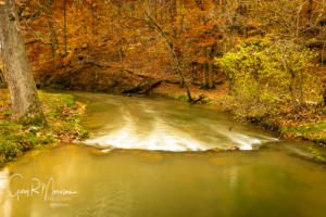 Fall at Mill Creek Spring Mill SP IN